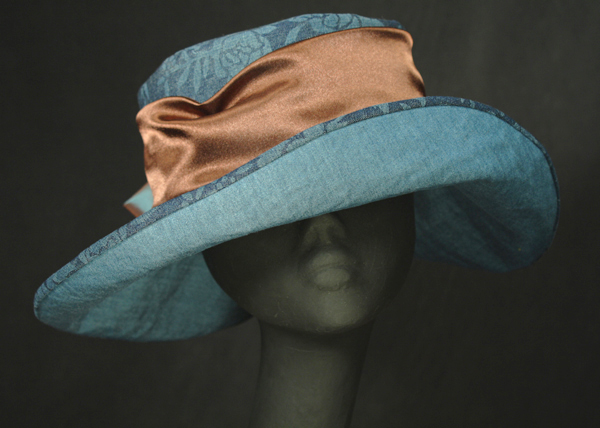 Ladies' casual summer hats