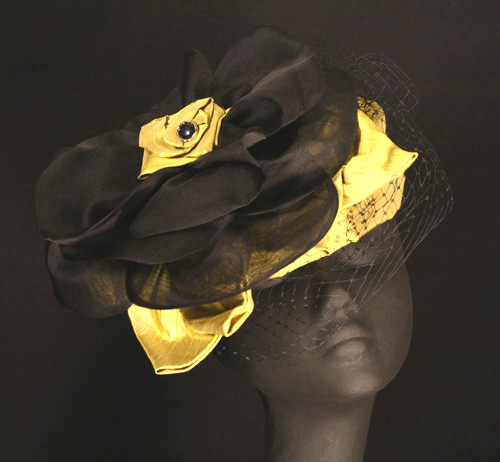 one of a kind Derby hat