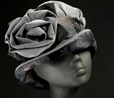 ladies' velveteen hats