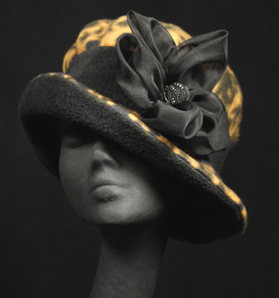 The Leopard Hat Collection, couture millinery