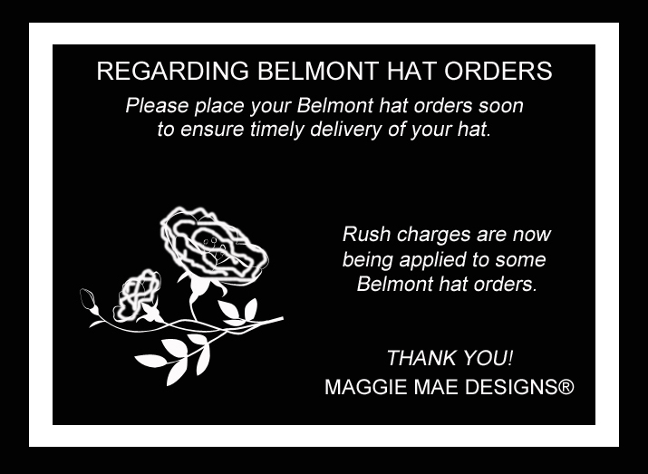 Hats for the Belmont Stakes 2015