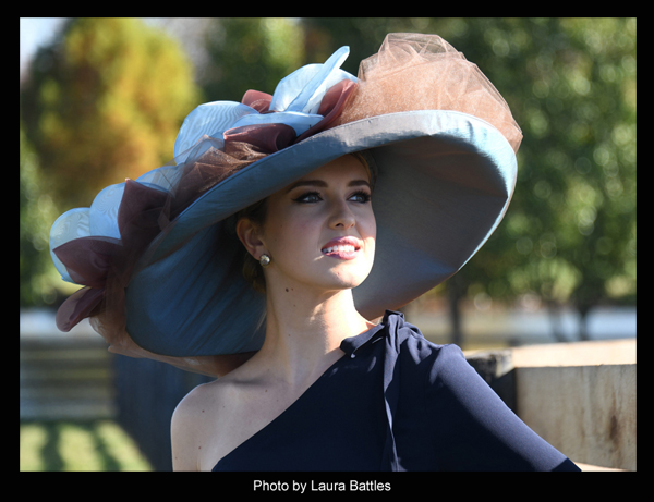 "The ""Birdstone"" Hat modeled by Acacia Courtney - Photo by Laura Battles"