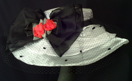 """Black Tie Affair"" hat"