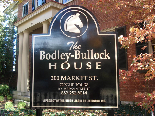 The Bodley-Bullock House, Lexington, KY