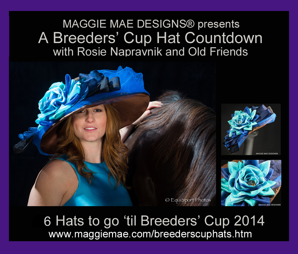 The Breeders' Cup Hat Countdown from MAGGIE MAE DESIGNS®!