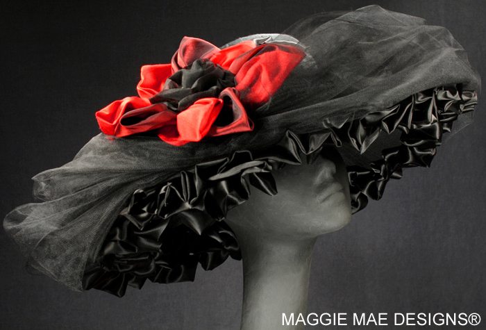 Kentucky Derby couture millinery