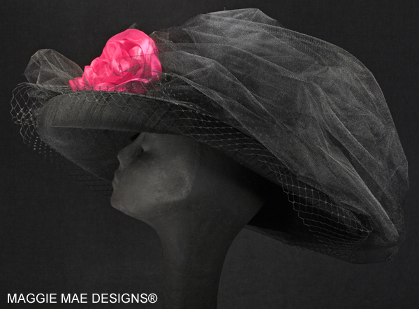 The Cassandra Hat for Derby and Royal Ascot