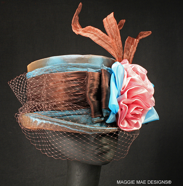 "The ""Catlaunch"" auction hat - ""Hats Off to the Horses"""