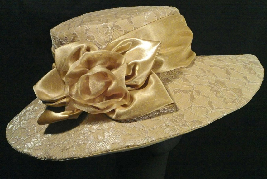 wedding hats in lace