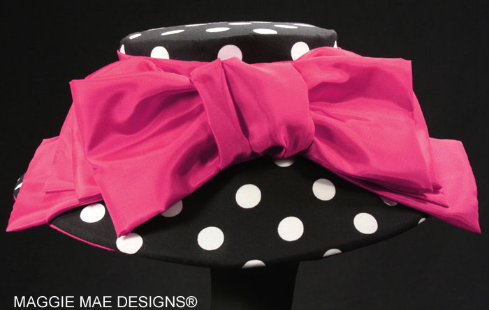 polka dot KY Derby hats