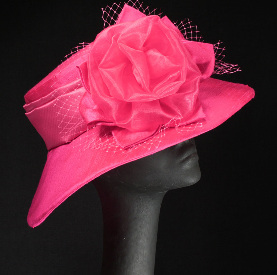 pink hats for the KY Oaks and Derby