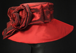 fancy ladies' hats for equine sporting events