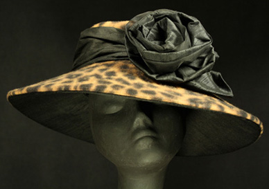 The Leopard Collection - Couture Millinery