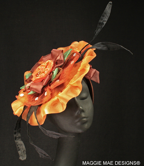 "The ""Clever Allemont"" auction hat - ""Hats Off to the Horses"""