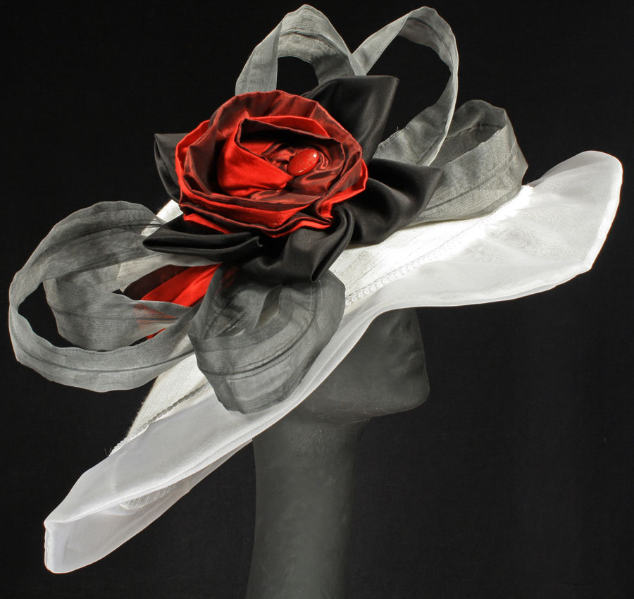 White silk hats for the Derby