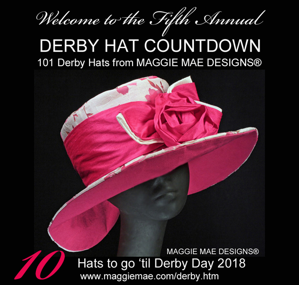 The Annual Derby Hat Countdown from MAGGIE MAE DESIGNS®