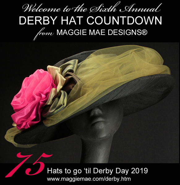 The Sixth Annual Derby Hat Countdown from MAGGIE MAE DESIGNS