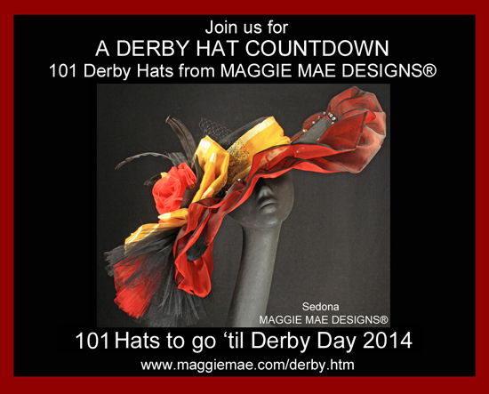 "Photo - ""MAGGIE MAE DESIGNS® Debuts A Derby Hat Countdown"" - blog post"