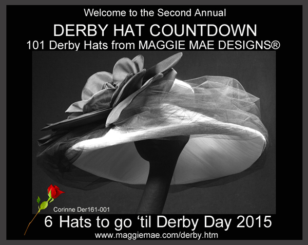 Derby Hat Countdown by MAGGIE MAE DESIGNS® - Custom Hats for the Kentucky Derby
