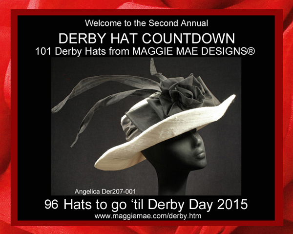 Second Annual Derby Hat Countdown by MAGGIE MAE DESIGNS®