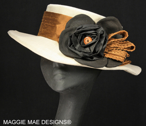 Ladies' linen summer spring hats
