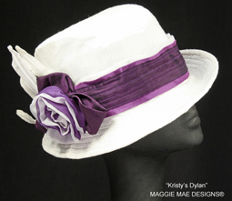 Dylan fedora for Derby and Royal Ascot