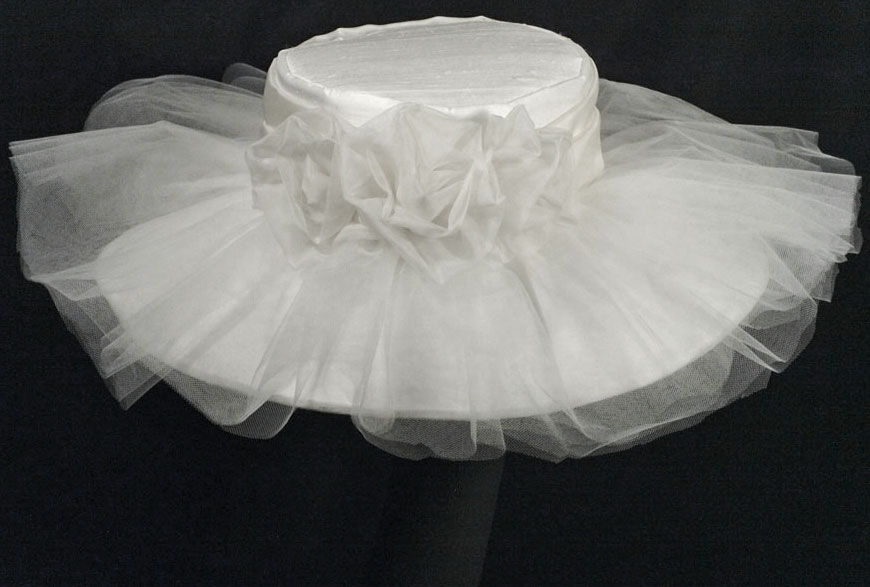 bridal couture millinery