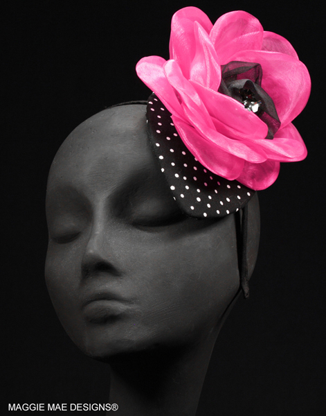 Great Teardrop Fascinator with Headband Der66-003