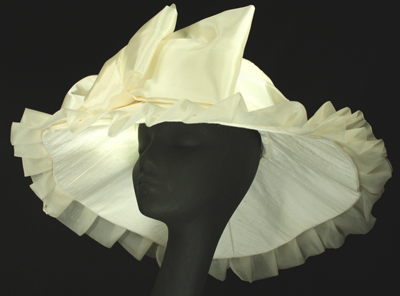 couture bridal millinery