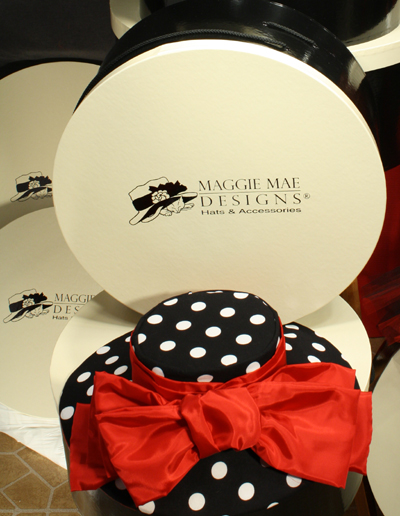 MAGGIE MAE DESIGNS® custom hatboxes