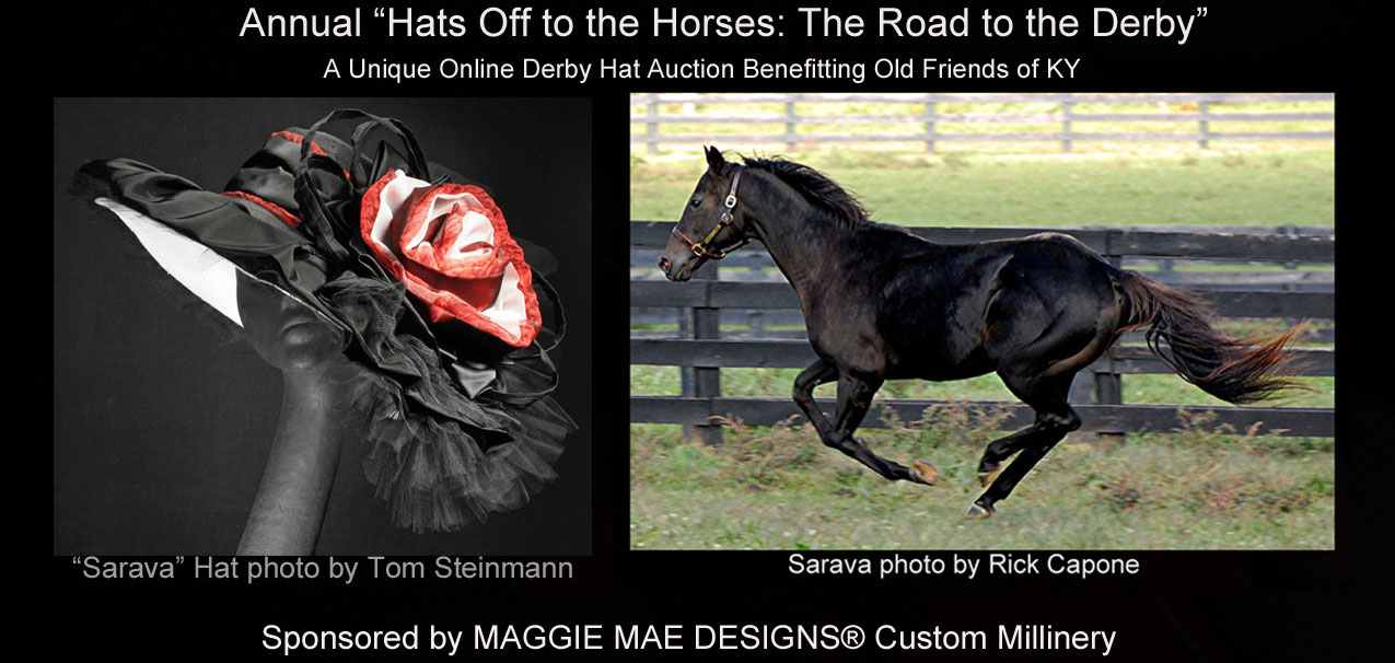 "CNN article featuring ""Hats Off to the Horses"" by MAGGIE MAE DESIGNS"