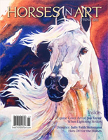 Horses in Art Magazine