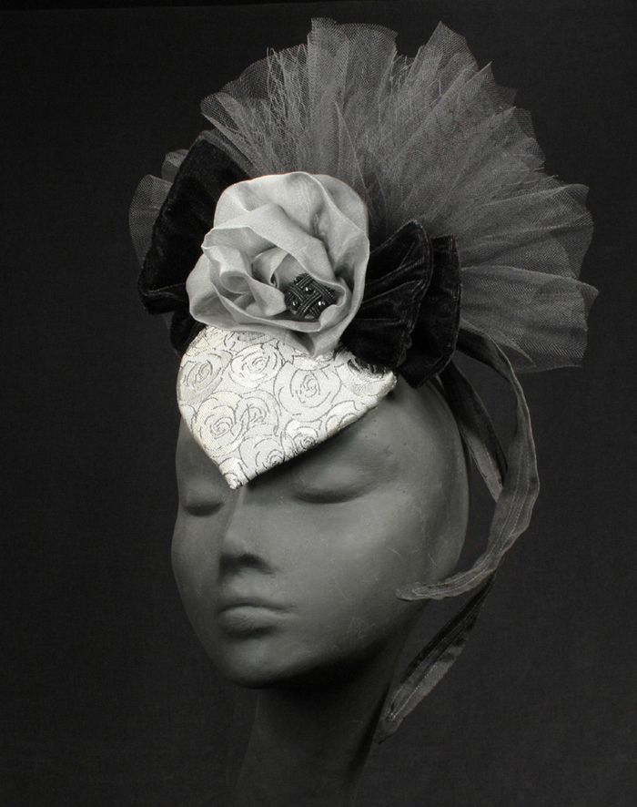 The Silver Belles Hat Collection - Couture Millinery