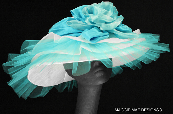 couture hats for the Derby