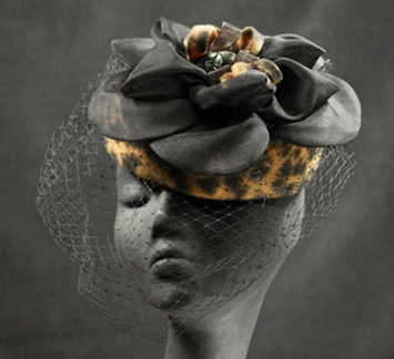 The Leopard Collection - cocktail hats