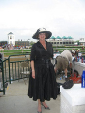 Ladies' Derby hats - Liza