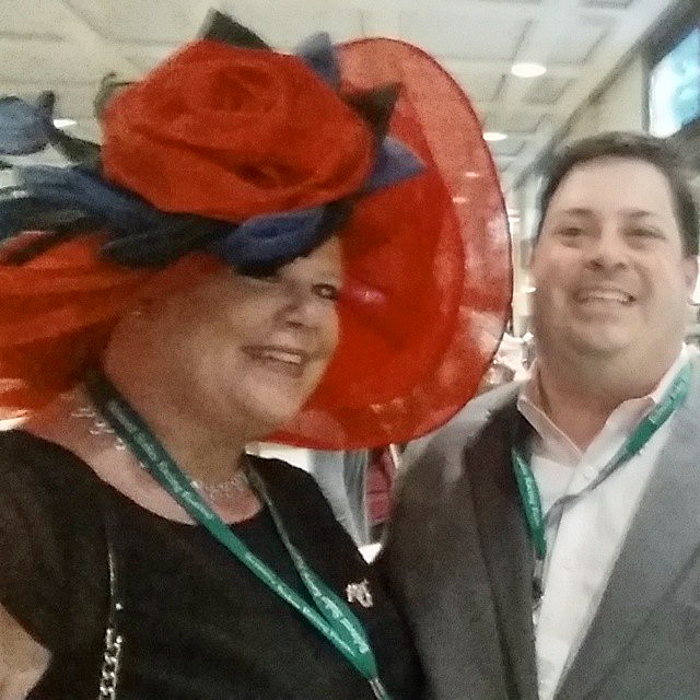 2015 Belmont Stakes hats