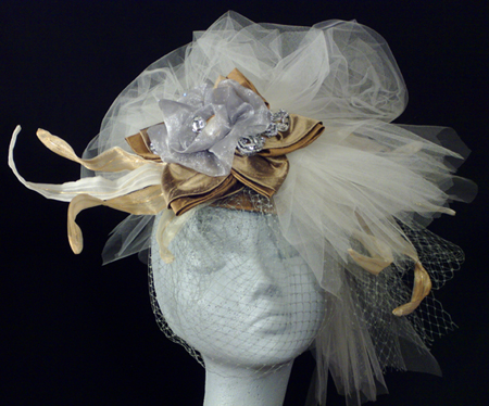 """Little Silver Charm"" Hat"
