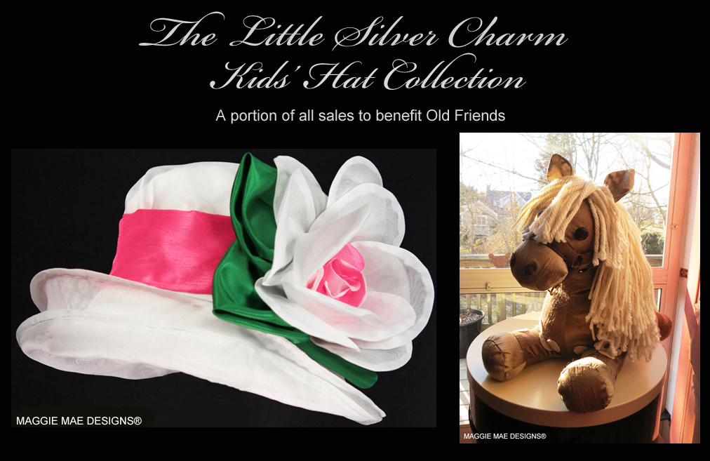 The Little Silver Charm Kids' Hat Collection - kids' Derby hats