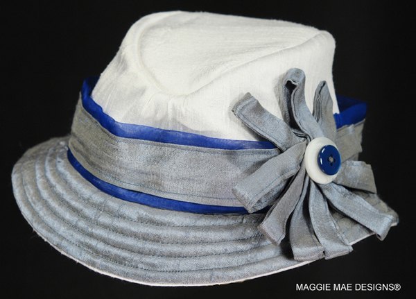 The Zachary hat - from the Little Silver Charm Kids' Hat Collection