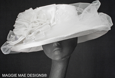 Couture Bridal Millinery at MAGGIE MAE DESIGNS