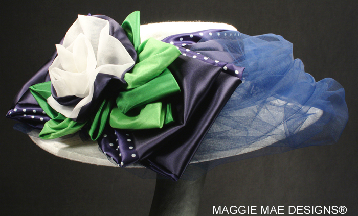 couture millinery for horse races