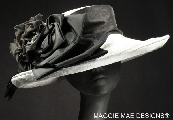 wide brim hats for horse racing and fancy teas