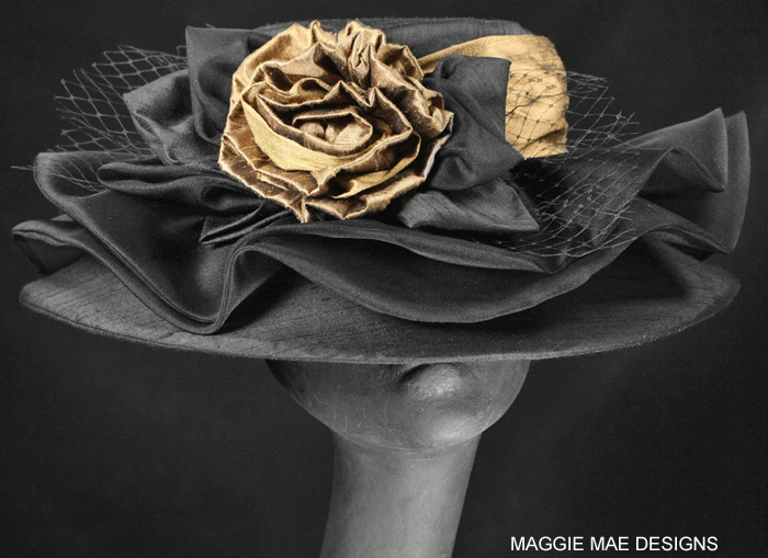 The Lizzie hat for Breeders' Cup
