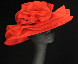 red KY Derby hats
