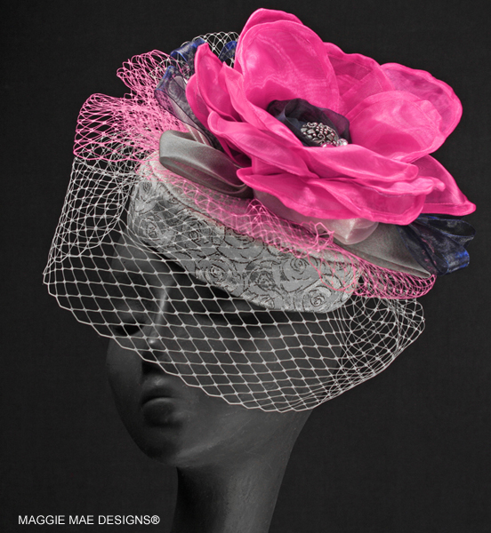 Louisa Der217-001 cocktail hat