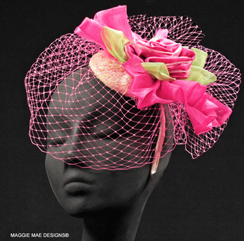 "The ""Louisa's Georgie"" fascinator"