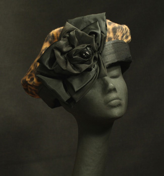 leopard fleece hats, silk hats