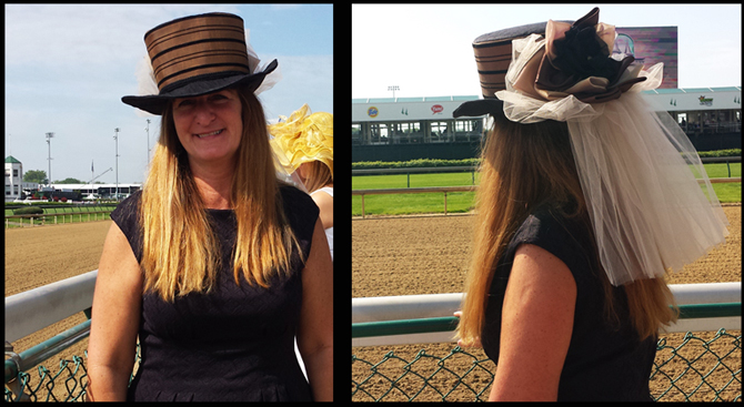 custom Derby hats