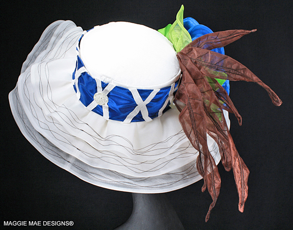 "The ""Nicanor"" auction hat - ""Hats Off to the Horses"""